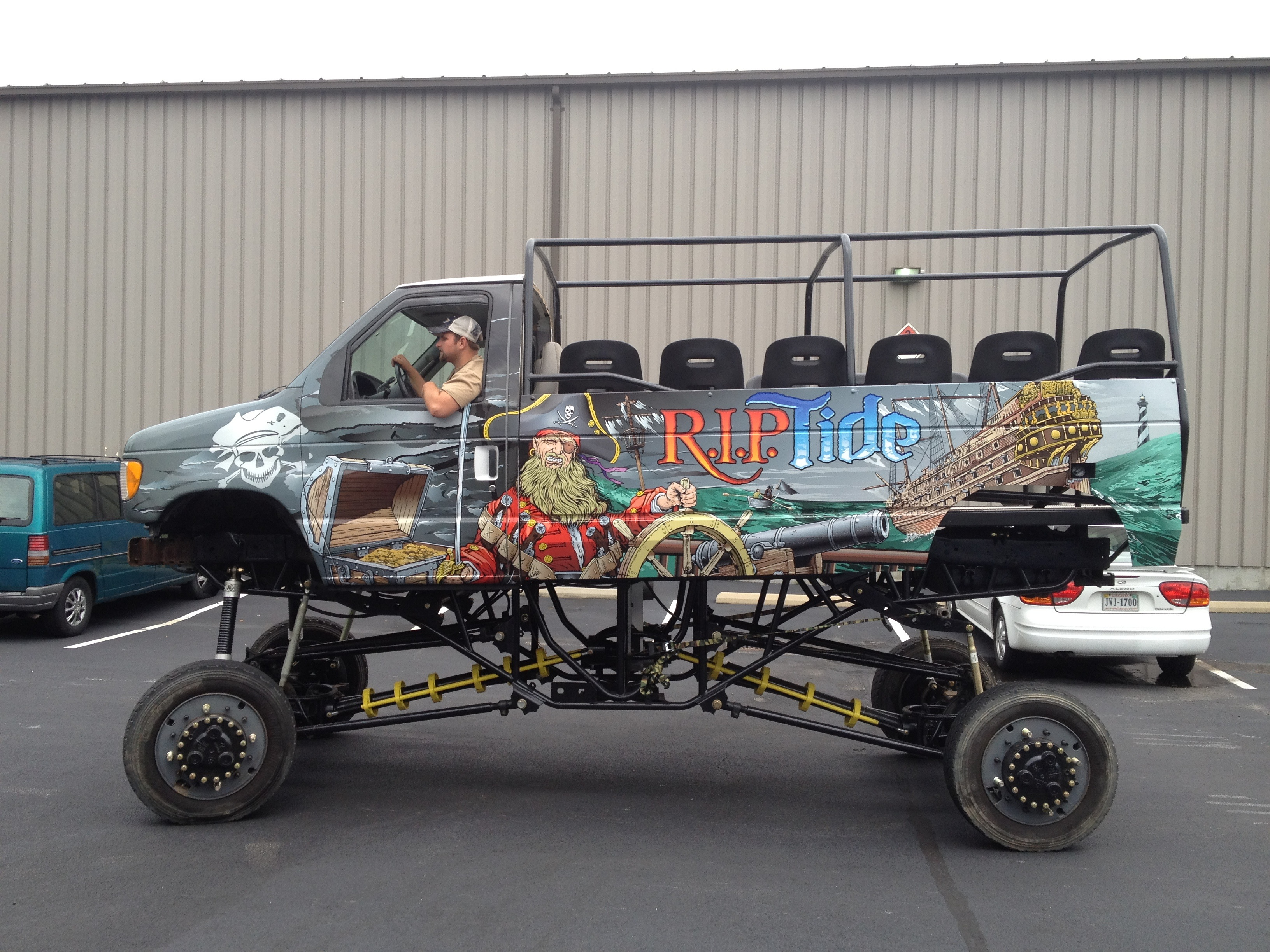 R I P Tide Monster Truck Wrap The Graphics Shop